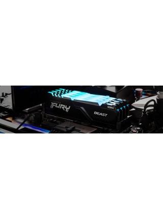 Пам'ять до ПК Kingston DDR4 3000 16GB FURY Beast RGB