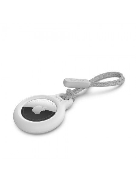 Тримач Belkin Secure Holder with Strap AirTag, white (F8W974BTWHT)