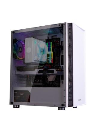 Корпус Zalman R2 WHITE, MidT,E-ATX, 2xUSB2.0,1xUSB3.0, 1x120мм RGB,скло(бічна панель),безБЖ,білий