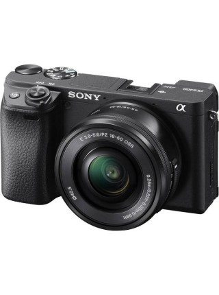 Цифр. фотокамера Sony Alpha 6400 kit 16-50mm Black (ILCE6400LB.CEC)