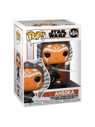 Фігурка Funko POP! Bobble Star Wars Mandalorian Ahsoka w/ Sabers 54527