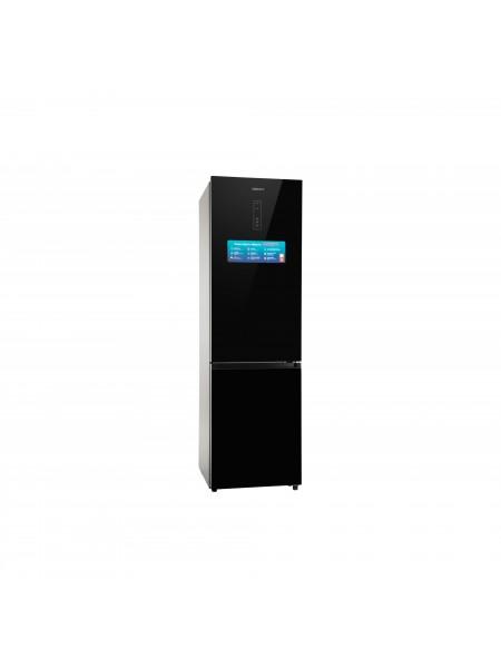 Холодильник з нижн. мороз. кам. ARDESTO DNF-M378GL200, 201.8см, 2 дв., Холод.відд. - 256л, Мороз. ві
