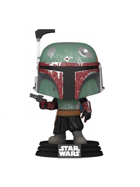 Фігурка Funko POP! Bobble Star Wars Mandalorian Boba Fett 54524