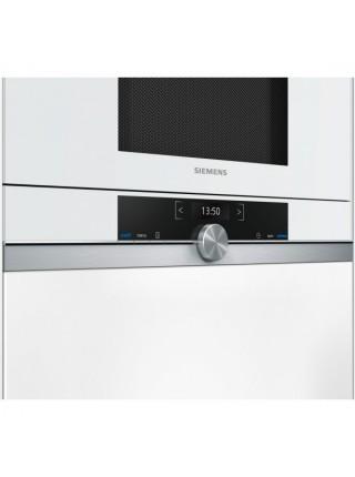 Вбудовувана мікрохвильова піч Siemens BF634LGW1 - 21л./900Ватт/TFT дисплей/білий