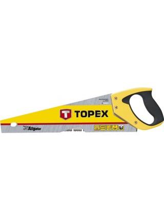 Пила TOPEX по дереву, 400 мм, Aligator, 7TPI (10A441)