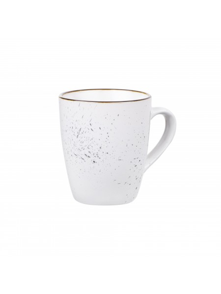 Чашка Ardesto Bagheria, 360 мл, Bright white, кераміка (AR2936WGC)
