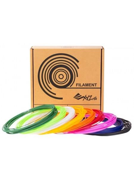 Набір ниток 1.75мм PСL для ручки 3D XYZprinting Cool (9 кольорів)
