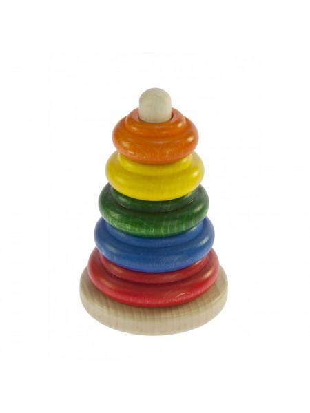 Nic Пірамідка дерев'яна різнобарвна NIC2310