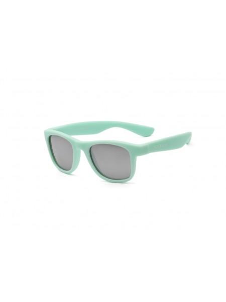 Дитячі сонцезахисні окуляри Koolsun KS-WABA003 м'ятного кольору серії Wave (Розмір: 3+)