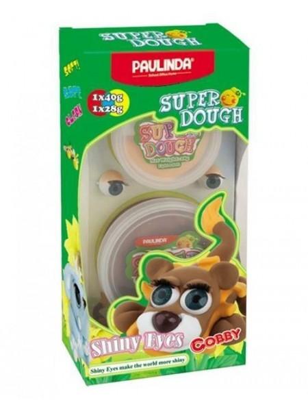 Маса для ліплення Paulinda Super Dough Shiny Eyes Лев Cobby глянцеві очі PL-081377-3