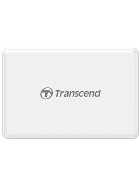 Кардрiдер Transcend USB 3.1 Multi Card White
