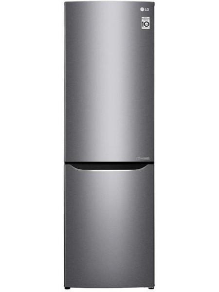 Холодильник с нижн. мороз. камерою LG GA-B419SLJL, 191х65х60см, 2 дв., Холод.відд. - 223л, Мороз. ві