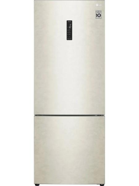 Холодильник с нижн. мороз. камерой LG GC-B569PBCM, 185х70х70см, 2 дв., Холод.відд. - 329л, Мороз. ві