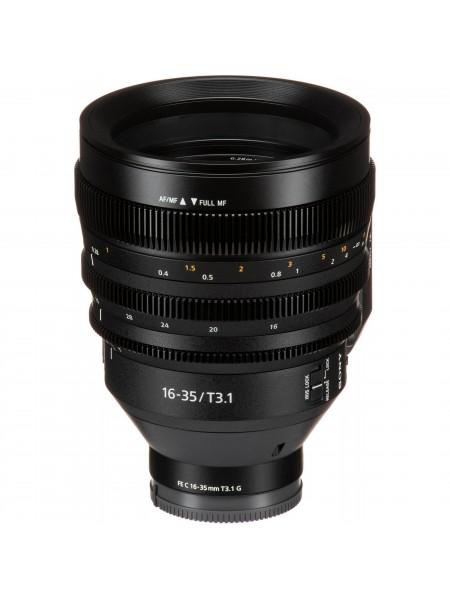 Об'єктив Sony SEL C 16–35mm T3.1