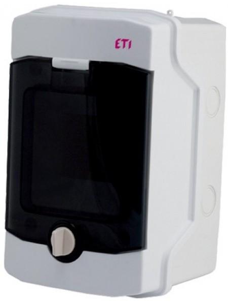 Пластиковий щит ETI,ECH 4G (4 модулі зовнішнього виконання IP65)