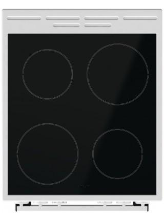 Плита Gorenje EC5151WG/склокераміка/ 50х60/ духовка - 70 л/гриль/ багаторівневе приготування/ білий