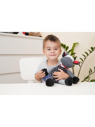 М'яка іграшка Same Toy Корова/Бик (чорно-білий) 24см A1057/24