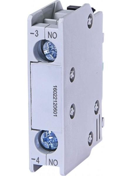 Блок контакт ETI BCXMFE10 (1NO) (фронтальний)