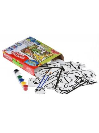 Пазл-розмальовка Same Toy Джунглі 2103Ut