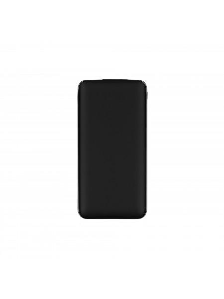 Портативний зарядний пристрій 2Е 10000mAh, DC 5V, out: QC3.0, MicroUSB, Type-C Inp. Soft, black (2E-