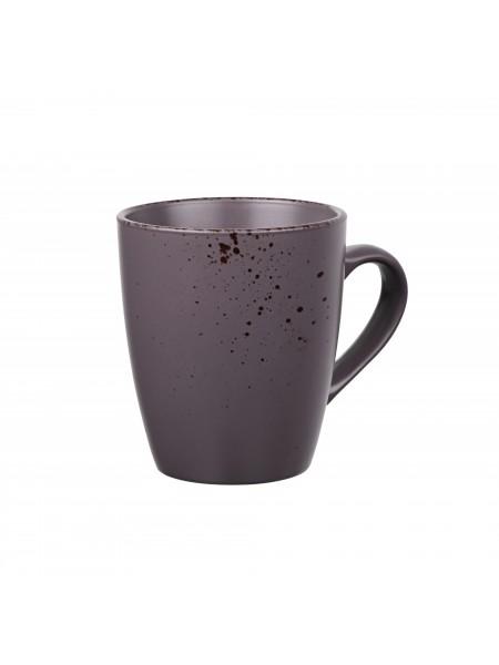 Чашка Ardesto Lucca, 360 мл, Grey brown, кераміка (AR2936GMC)