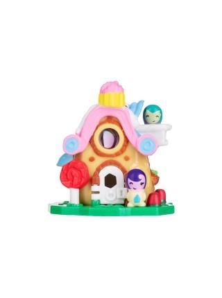 Ігрова фігурка Jazwares Nanables Small House Містечко солодощів, Кондитерська Найкращі капкейки
