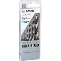 Свердла по металу Bosch HSS PointTeQ набір 6шт, 2,3,4,5,6,8 мм (2.608.577.346)