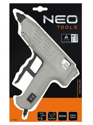 Пістолет NEO клейовий, 11 мм, 80 Вт, регулювання температури