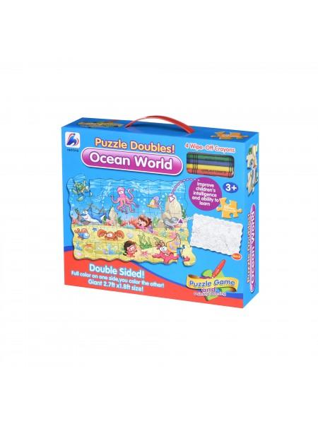 Пазл-розмальовка Same Toy Підводний світ 2036Ut