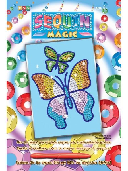 Набір для творчості Sequin Art SEQUIN MAGIC Метелик SA0720