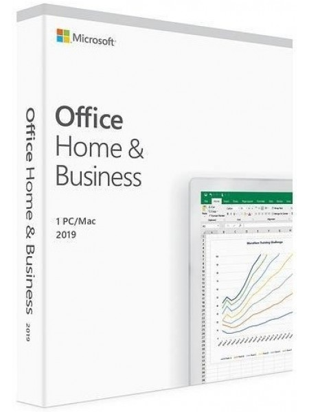 Програмне забезпечення Microsoft Office Home and Business 2019 English Medialess P6 (T5D-03347)