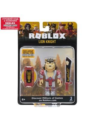 Ігрова колекційна фігурка Jazwares Roblox Core Figures Lion Knight W4