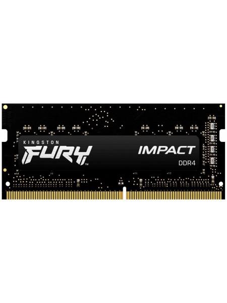 Пам'ять до ноутбука Kingston DDR4 2933 32GB KIT (16GBx2) SO-DIMM FURY Impact