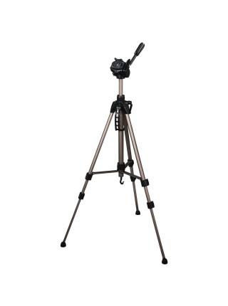 """Штатив для фотокамер Hama """"Star 61"""", 1/4 """"(6.4 мм), 60-153 см, колір шампань (00004161)"""