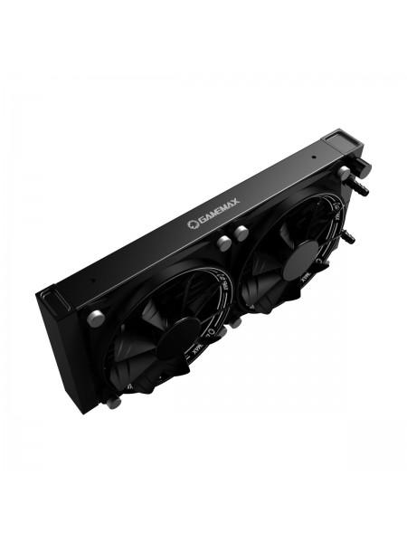 Система водяного охолодження процесора 2х120 Gamemax IceHill240-Rainbow