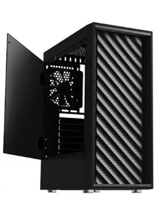 Корпус Zalman T7, MidT, 2xUSB2.0,1xUSB3.0, 2x120мм,акрил(бічна панель),безБЖ,чорний