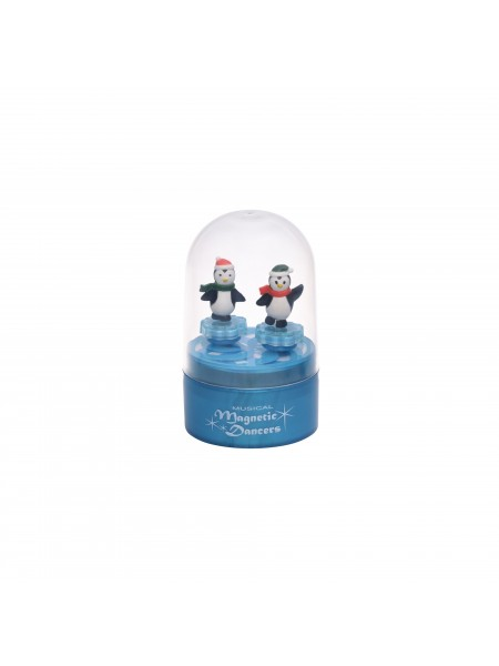 Музична коробка goki Пінгвіни (синя) 13198G-3