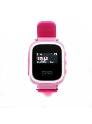 Дитячий GPS годинник-телефон GOGPS ME K11 Рожевий