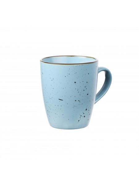 Чашка Ardesto Bagheria, 360 мл, Misty blue, кераміка (AR2936BGC)