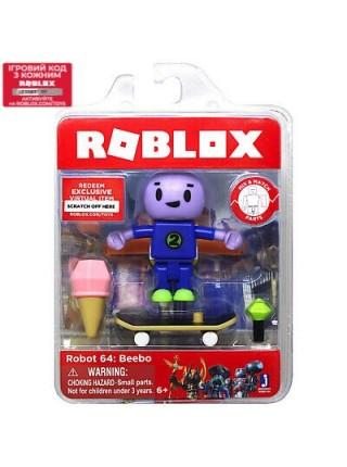Ігрова Колекційна фігурка Jazwares Roblox Core Figures Robot 64: Beebo W5