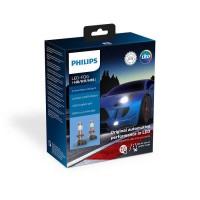 Лампа светодиодная Philips H8/H11/H16 X-treme Ultinon Led +250%, 2 шт/комплект