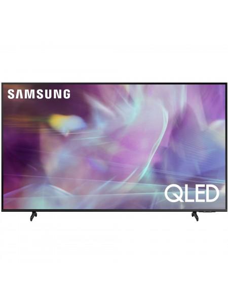 """Телевiзор 85"""" QLED 4K Samsung QE85Q60AAUXUA Smart, Tizen, Black"""