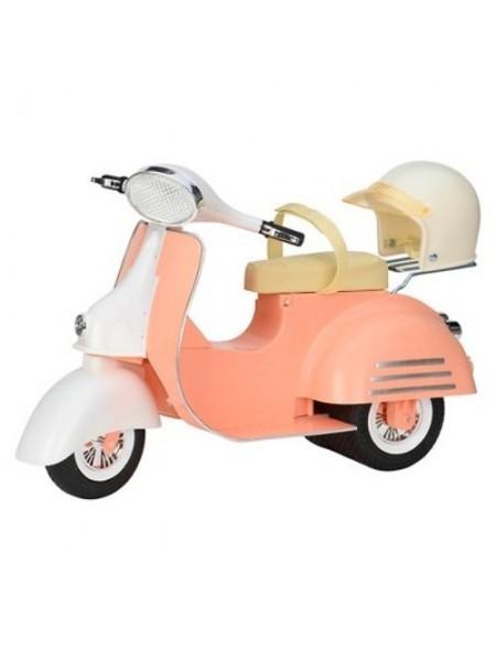 Транспорт для ляльки Our Generation Скутер бежевий BD37361Z