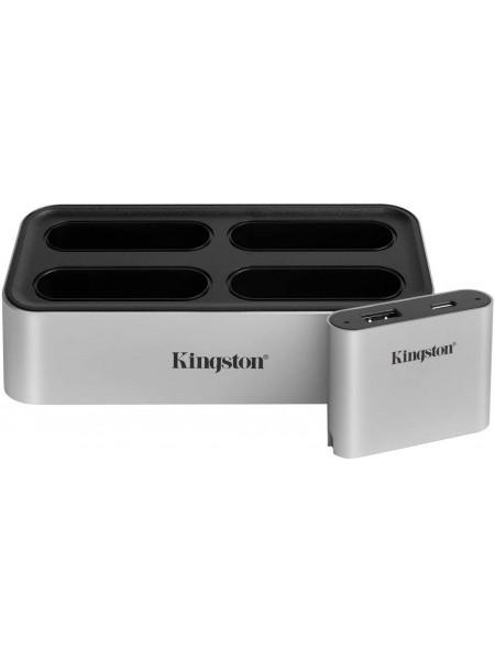 Кардрiдер Kingston Workflow Station Dock USB 3.2 Gen2 USB-A/C Hub (WFS-U)