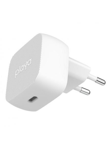 Мережевий ЗП Playa by Belkin Home Charger 18W USB-C PD, white (PP0001VFC2-PBB)