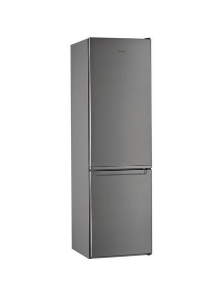 Холодильник з нижн. мороз. камерою Whirlpool W7921IOX, 201х66х60см, 2 дв., Х- 253л, М- 97л, A++, NF,
