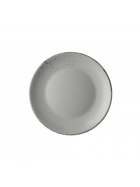 Тарілка десертна Ardesto Lucca, 19 см, Illusion blue, кераміка (AR2919BMC)