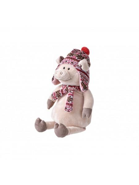 М'яка іграшка Same Toy Порося в капелюсі 48см THT719