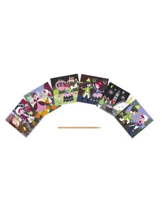 Скрейтч-карти Janod Попелюшка J07770