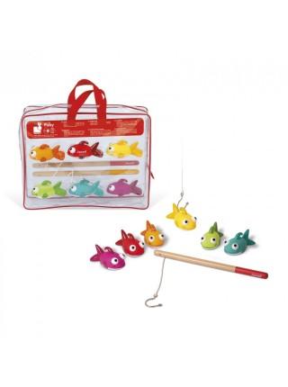 Іграшки для купання Janod Риболовля. Рибки J03247